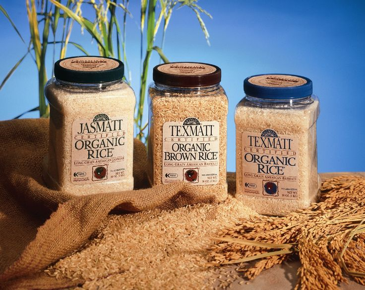 Texmati®, Jasmati® & Brown® Organics Throwbacks