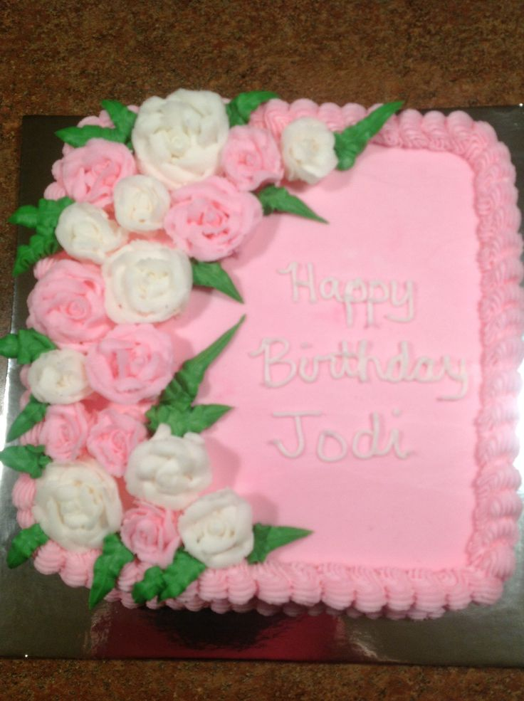 English Birthday Cake