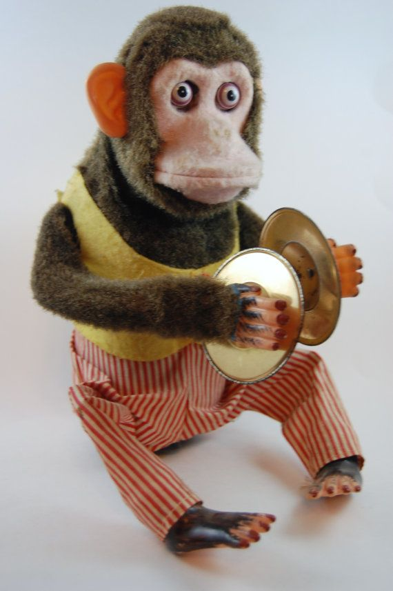 1960 S Musical Jolly Chimp Made In Japan By Daishin