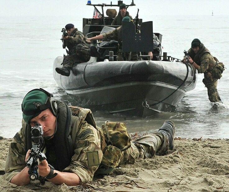 Royal Marines Commando training