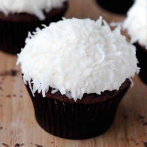 Cupcakes de Chocolate y coco