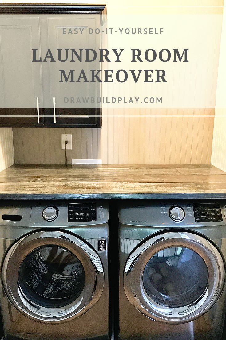Laundry Room Makeover Laundry Room Makeover Laundry Room Decor