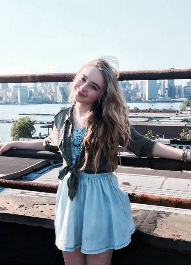 Sabrina Carpenter) Hey I'm Sabrina!! I'm 16 years old! I'm a total good girl and I don't like to break the rules! Unlike my older sister Jade! I love dancing, singing and acting! I really want to work on my career but I guess I'm taking a little break