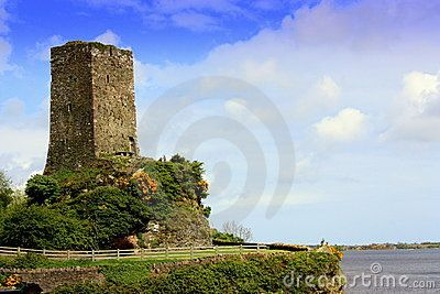 A watch tower overlooking a bay in county Wexford Ireland