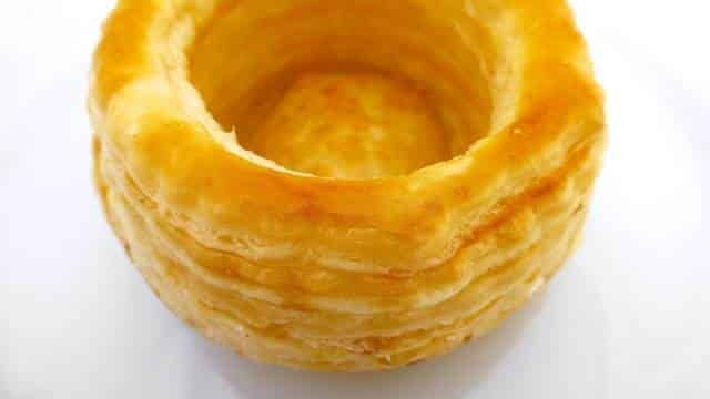 Here's how to make Vol Au Vents puff pastry cups...