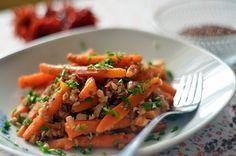 Fotorecept | Marocký mrkvový šalát s pohánkou