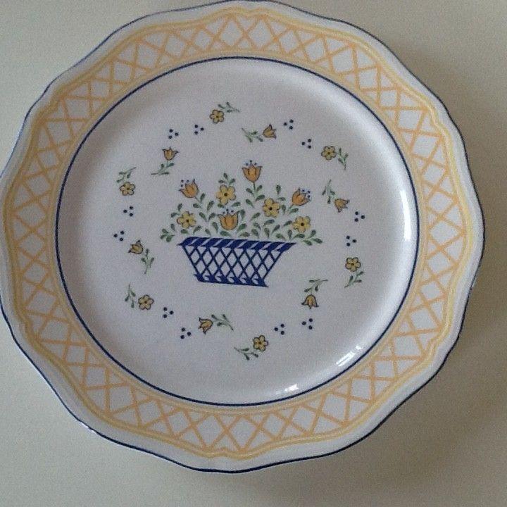 Middagstallerken - diamter 27 cm – Sango Country French servise