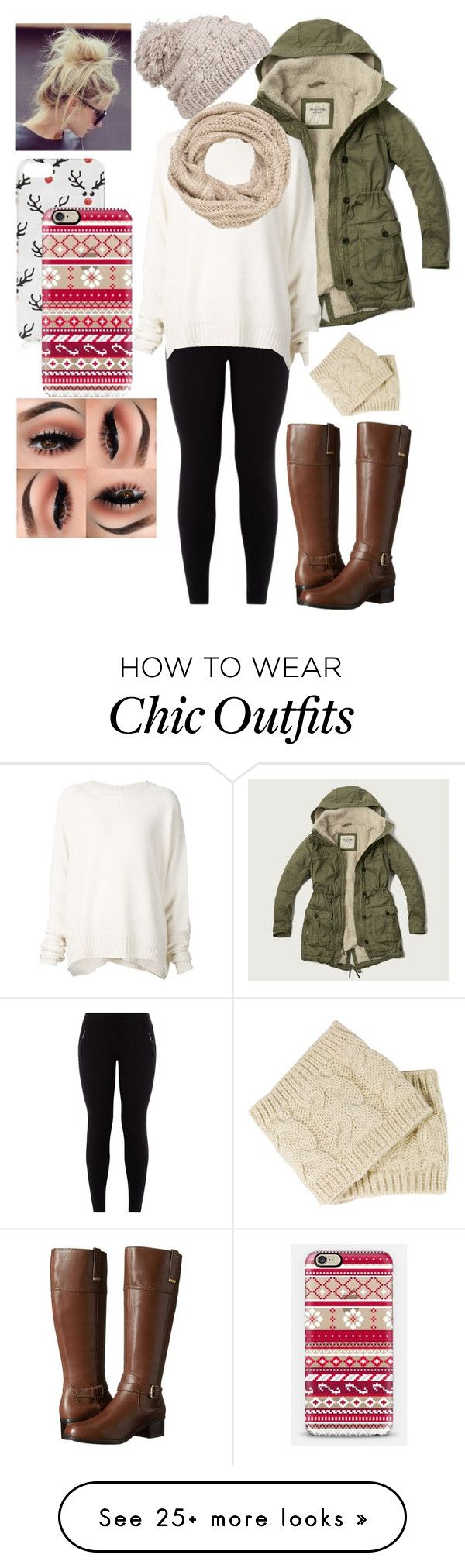 """""""winter"""" by daisy-rebolledo on Polyvore featuring Abercrombie & Fitch, URBAN ZEN, Bandolino, prAna, maurices, Topshop and Casetify"""