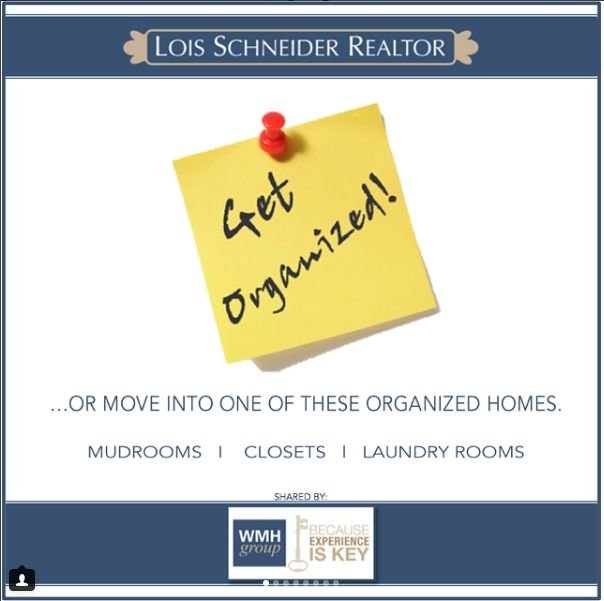 The WMH Group at Lois Schneider Realtor - Instagram Recap July 2017, The WMH Group at Lois Schneider Realtor, 431 Springfield Avenue, Summit, NJ, Office: 908.277.1398, DIRECT LINE: 908.376.9065, wmhgroup@lsrnj.com, thewmhgroup.com, Move to Summit New Jersey, Summit NJ Real Estate, Real Estate For Sale In Summit, Zillow, Trulia, For Sale, Buying A Home, Find Your Realtor In Summit, NJ, Get Organized, Mudrooms, Closets and Laundry Rooms, Marie Kondo, Spark Joy, New Homes for Sale
