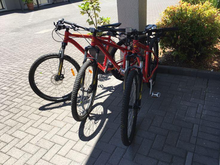 Bike Hire $30 Half day $50 Full Day Helmets & locks included