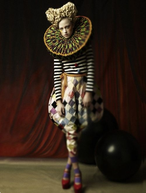 Kate Forbes; costume designer and stylist: Piinar Necati for Toni & Guy: Dolls | Photographer: Wolfgang Mustain | 2008