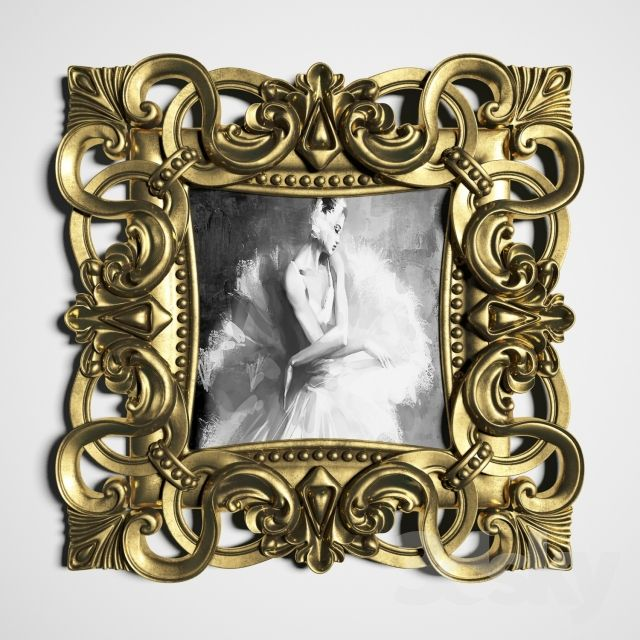 Classical picture frame