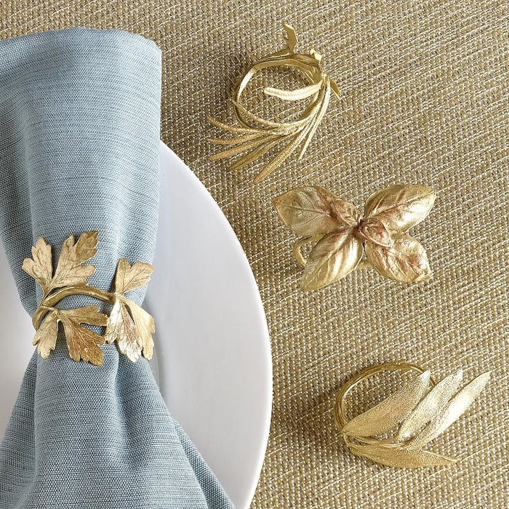 napkin rings- I have a thing for napkin rings!! I have to be careful it never becomes and obsession.