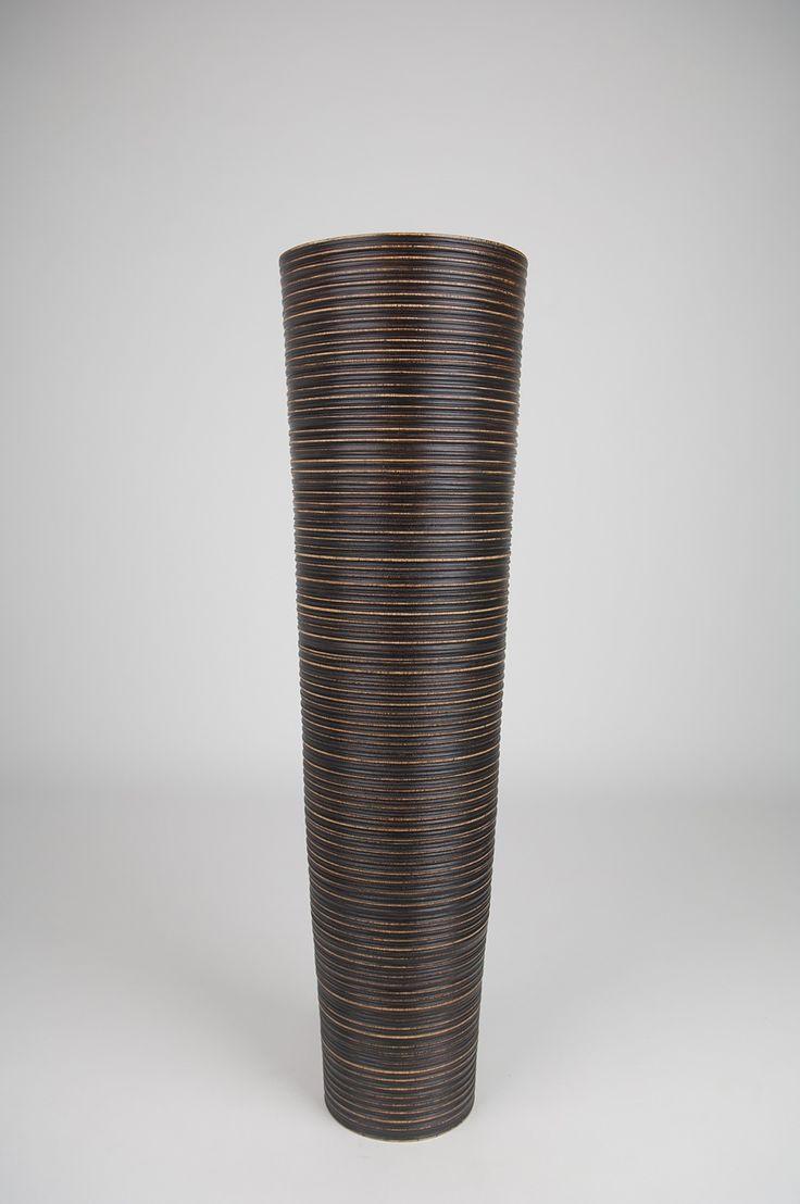 the  best tall floor vases ideas on pinterest  vase  - tall floor vase  inches wood brown