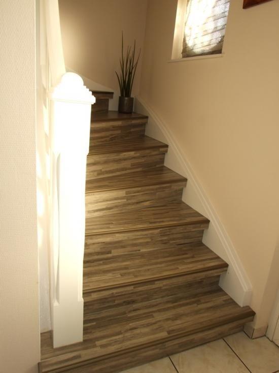 Les 25 meilleures id es de la cat gorie marches d 39 escalier tapis sur pinterest tapis de marche - Renovation escalier par recouvrement ...