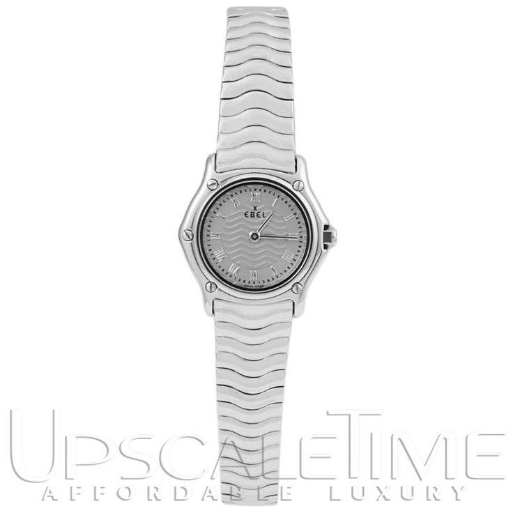 Ebel Sport Classic Silver Women's Watch 9157112-silver