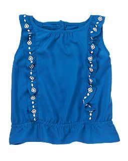 Embroidered Ruffle Top 4.19