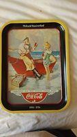 Coca Cola Tray Sea Captain 13 1/2 x 10 1/2 1987 Sh1-3