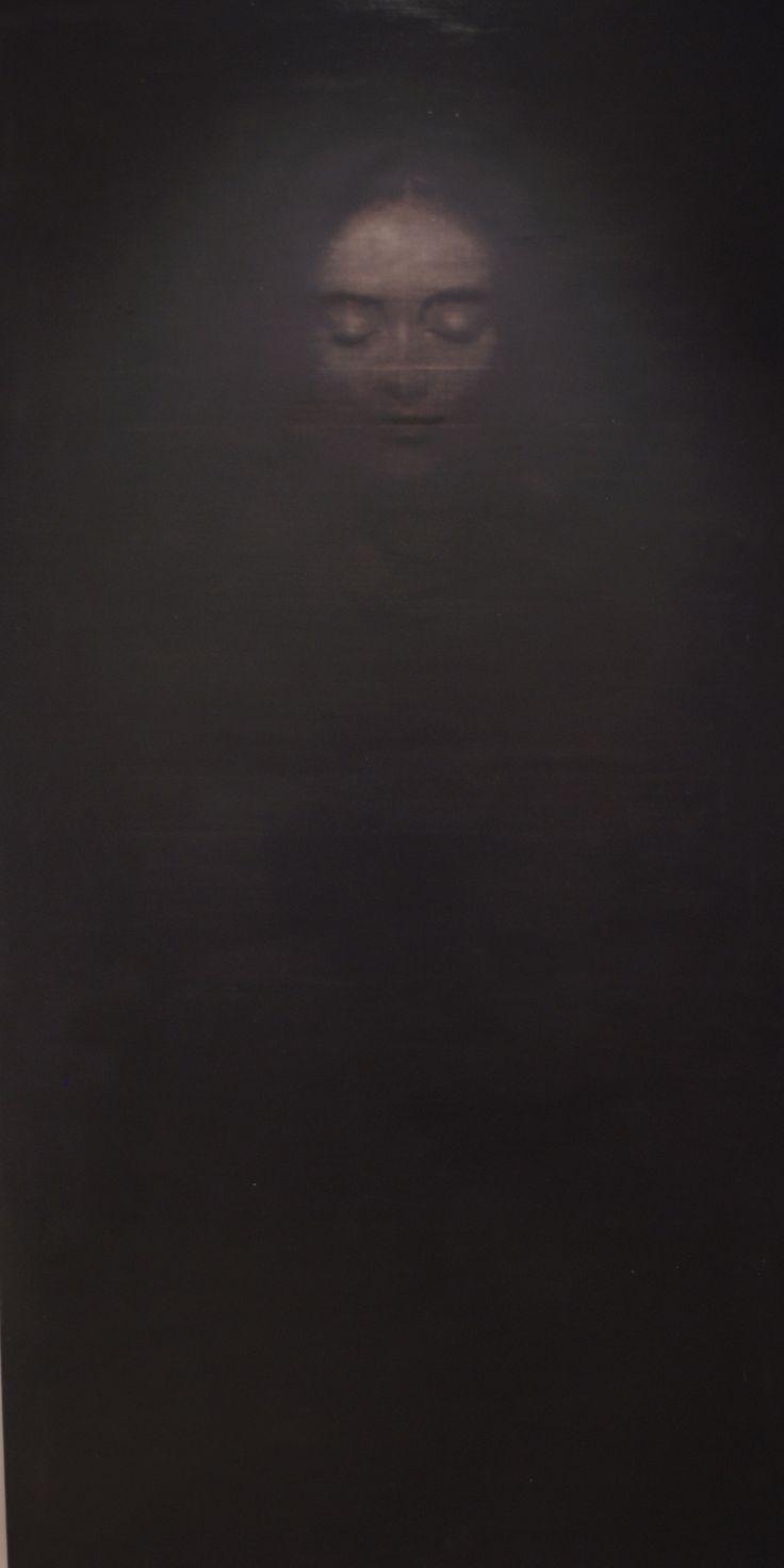 Ophelia oil on canvas 200*100