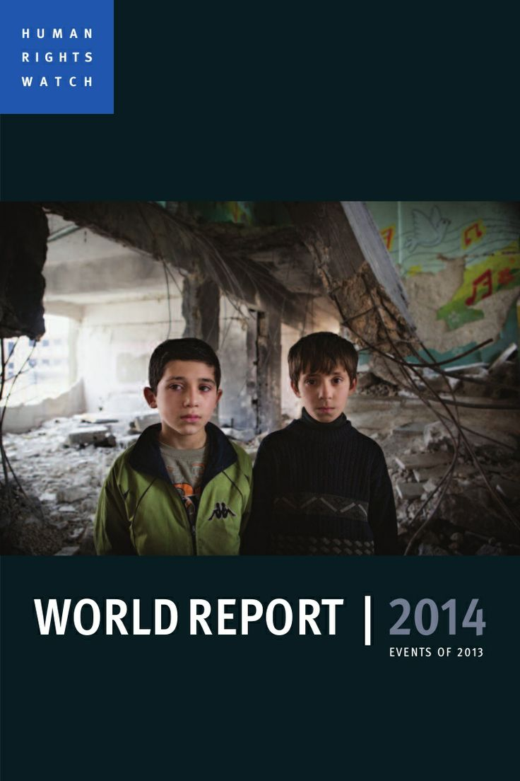 Human rights watch - world report 2014