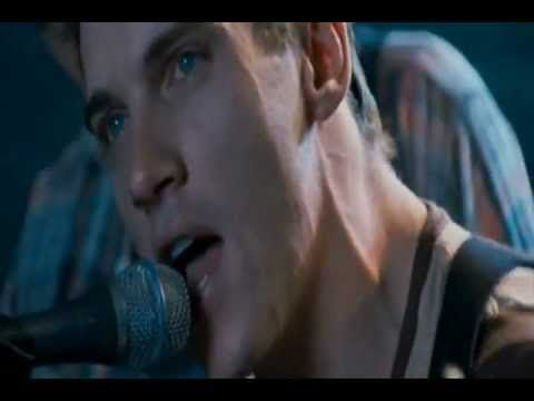 This Time - Jonathan Rhys Meyers. This is off the August Rush soundtrack its a song called This Time by Jonathan Rhys Meyers; Written by Chris Trapper