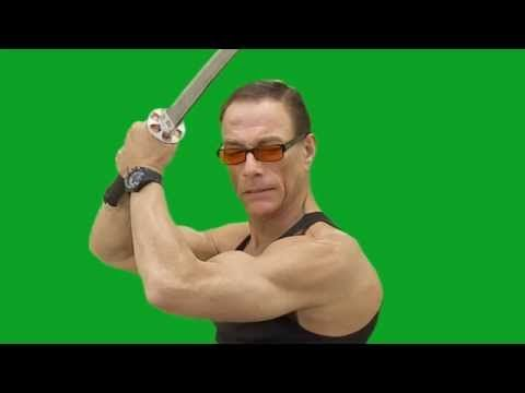 Jean Claude Van Damme Green Screen - YouTube
