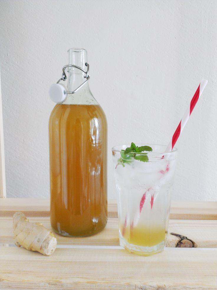 Zázvorový sirup na limonádu