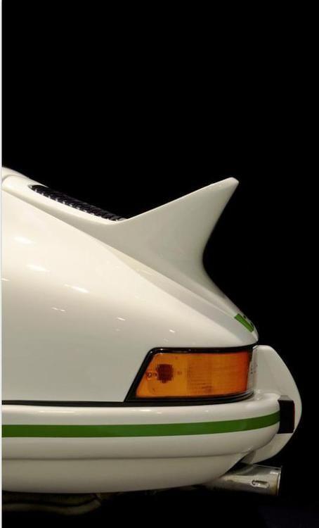 porsche 911 rs carrera - 1973 - ducktail