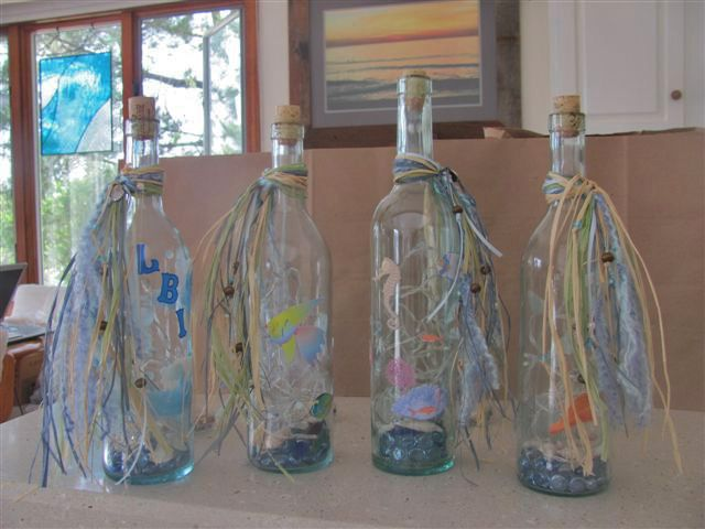 1000 images about bottle lamps on pinterest bottle - How to decorate glass bottles ...