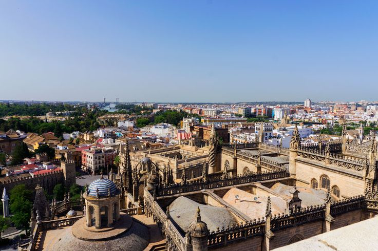Travelling with kids in Seville, Spain