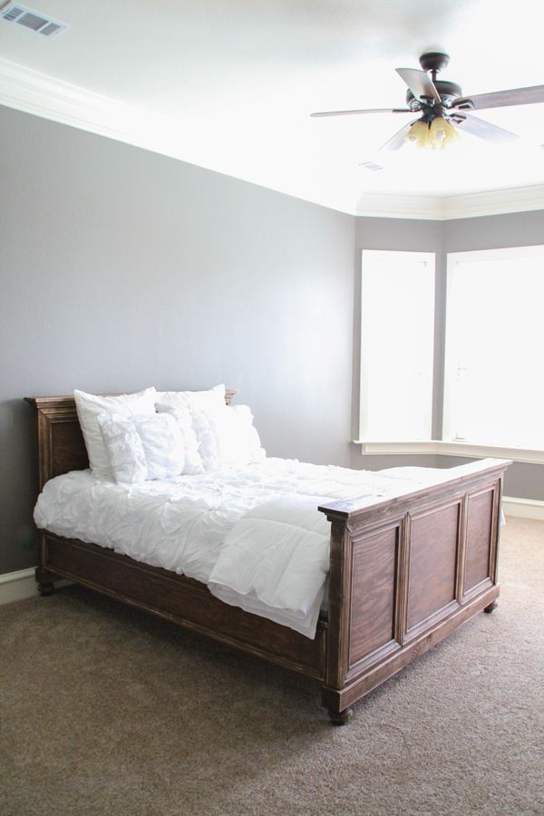 17 best images about headboard on pinterest diy headboards upholstered bed frame and - Plywood for platform bed ...
