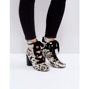 ASOS ETHELINE Lace Up Ankle Boots