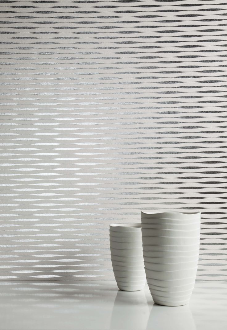 Smooth wave like motions of  #designs shows sober and timeless elegance of the design with rich colourings of #wallcoverings, perfect for residential to commercial settings. Wallcoverings from Waves, Omexco, #Goodrich