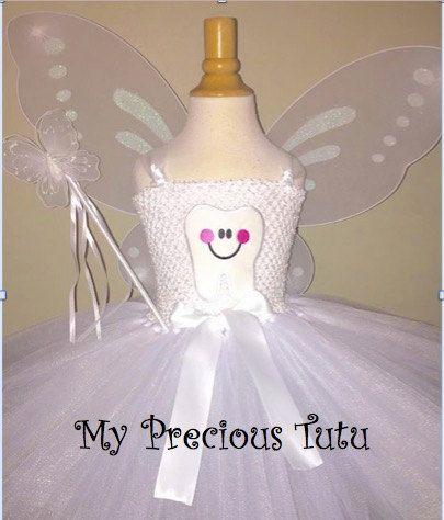 Traje de hada de los dientes vestido de hada de por MyPreciousTutu