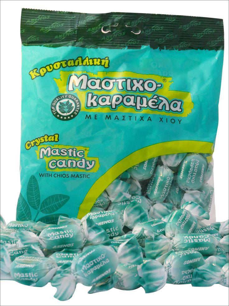 Kristallbonbon mit Mastix - ein erfrischendes Bonbonvergnügen