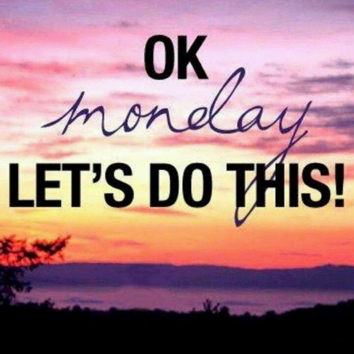 OK MONDAY LETS DO THIS #MONDAY #CURVESWALLSEND