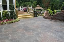 Husband and I are thinking about putting a Patio onto the back of our home this summer.  I really like the look of this one!