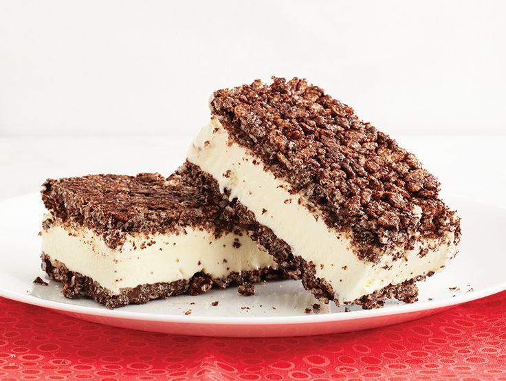Dégustez la crème glacée à la vanille autrement qu'à la mode.