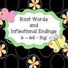 This is a great mini unit to teach root words and inflectional endings.  The patterns for each ending are explained on each worksheet so any adult ...