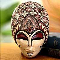 Batik mask from Java