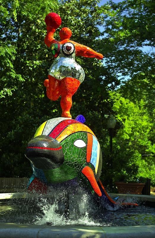 Niki de Saint Phalle, Show Atlanta Georgia   -  #NikideSaintPhalle