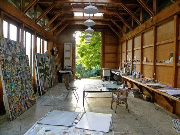 Artists studios – Karen Barbour ~ad'a~