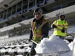 U.S braces itself for coldest month of the century with yet another Arctic blast as fears grow for Super Bowl Sunday