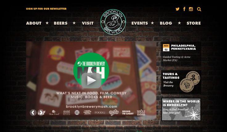 brooklyn brewery homepage