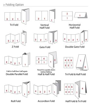 creative brochure folds - Google Search