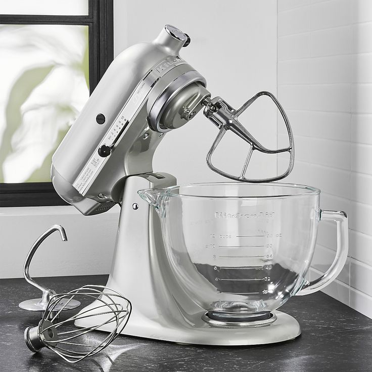 Kitchenaid artisan design series sugar pearl silver stand