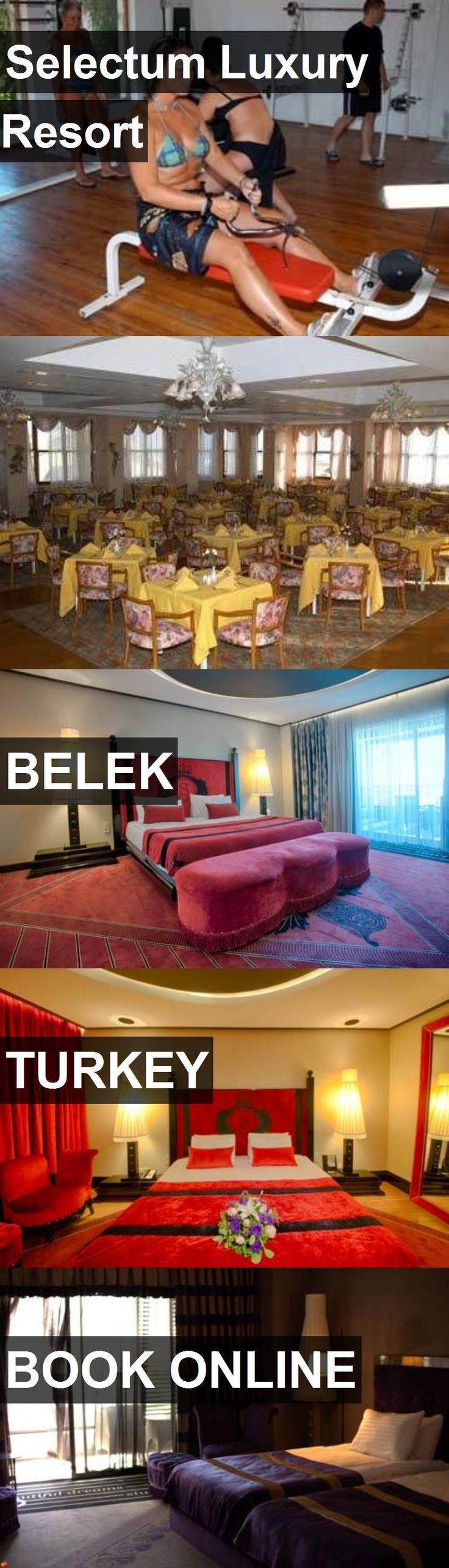 Hotel Selectum Luxury Resort in Belek, Turkey. For more information, photos, reviews and best prices please follow the link. #Turkey #Belek #hotel #travel #vacation