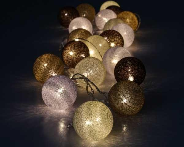 Lampki Cotton Balls Led Ceiling Lights Light