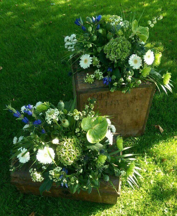 Koets bruids arrangementen