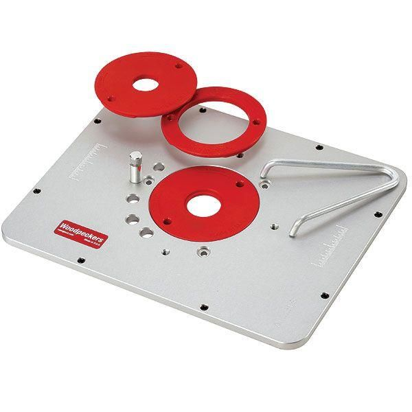 Buy Woodpeckers Aluminum Router Plate for PC690/890 at Woodcraft.com